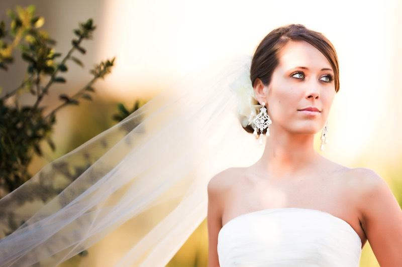 Wedding Picture Of S Bride Looking Incredible In Her Weding Dress WIlmingtn NC Photographer
