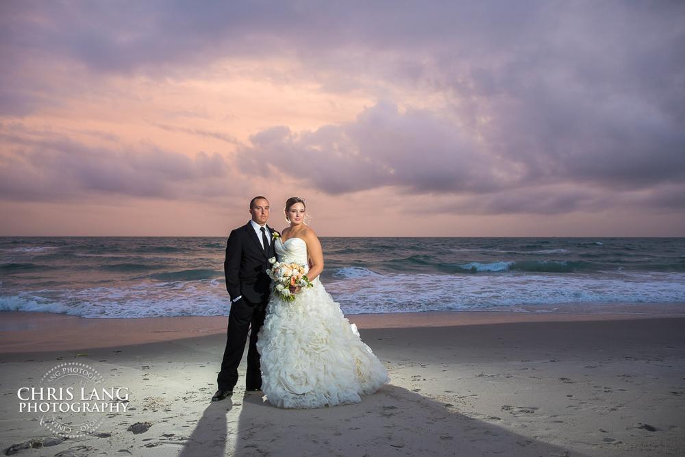 Beach Weddings | Chris Lang Photography | NC Beach Wedding ...