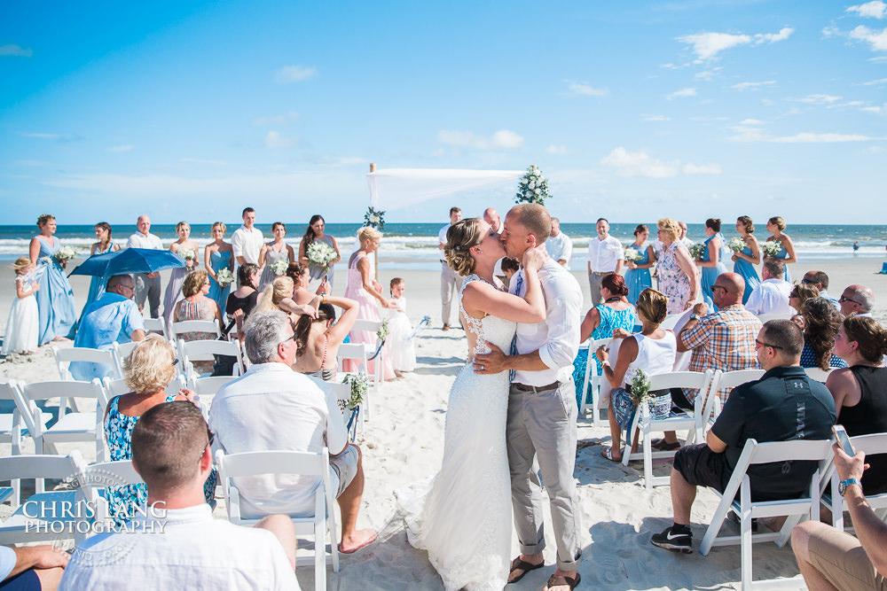 Beach Weddings   Chris Lang Photography   NC Beach Wedding ...